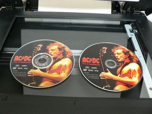 DVDラベルコピー